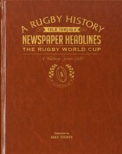 International Rugby History - Newspaper Book (Leatherette)